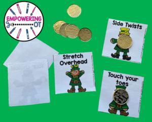 Leprechaun Movement Cards