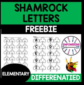 Shamrock Letter Writing Free